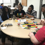 Language Café hosted in Clark Student Center