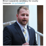 Jesse Brown withdraws from county treasurer election