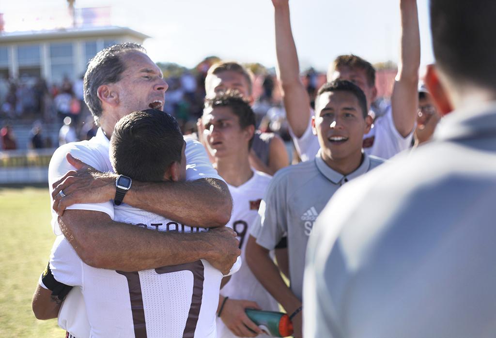Men's soccer wins Heartland championship