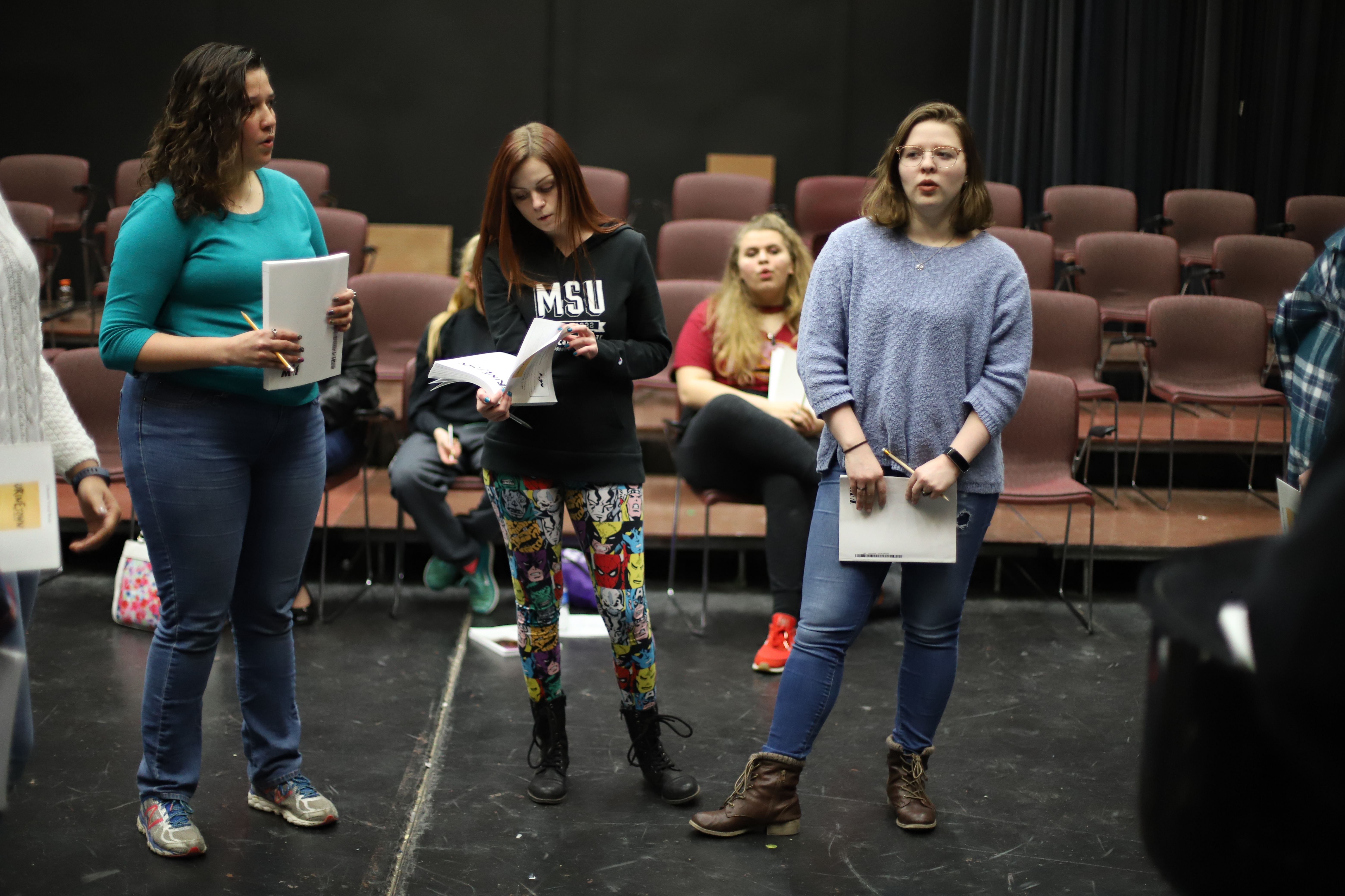 Urinetown cast met for first rehearsal