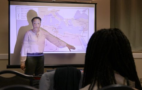 Students learn about 'Slavery in Libya, Beyond'