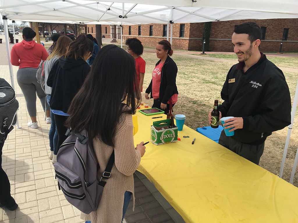 Campus organizations emphasize safety for students this spring break