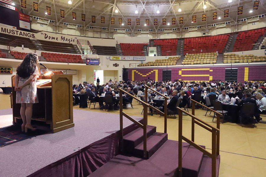 Students recognized at annual honors banquet