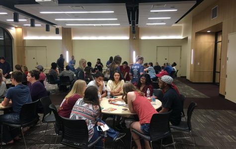 Game Night RED Talk connected honor students