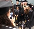 Graduates get a group photo together in the MPEC before Commencement Ceremony held in Kay Yeager Coliseum, Dec. 12. Photo by Rachel Johnson