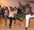 The group O.K turns zombie as they dance to the song Carnival Jumbie for the 2017 Caribfest Soca Show hosted in the Sikes Lake Center. Sept. 29. Photo by Marissa Daley