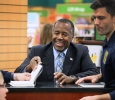 Republican presidential candidate Ben Carson traveled to Wichita Falls for a book signing on Oct. 20 2015. Photo by Gabriella Solis.