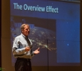 Dr Scott Parazynski, astronaut and medical doctor talked at MSU Sept 27 photo by Izziel Latour