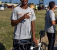 Leon Taylor, business finance senior and soccer midfielder, at the Wichita Falls Hotter N Hell, Aug. 26-28, 2016. Photo by Izziel Latour