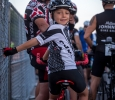 8-year-old Max and Mark Emden at the Wichita Falls Hotter N Hell. They came all the way from Austin to ride the 62 miles race, Aug. 26-28, 2016. Photo by Izziel Latour