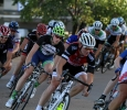 Ricky Randall rides in the Hotter 'N Hell men's crit races Friday afternoon.