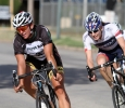 Hannah Ross rides in the Hotter 'N Hell women's crit race Friday afternoon.