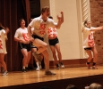 Kappa Sigma and Sigma Kappa performing at Lip Sync in the Akin Auditorium. 24 Oct. Photo by Bridget Reilly