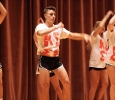 Colton Shank, nursing sophomore, performing at Lip Sync in the Akin Auditorium. 24 Oct. Photo by Bridget Reilly