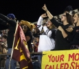 at the Midwestern State v. Angelo State. MSU won in the last minute of the game 28-21. Photo by Bridget Reilly