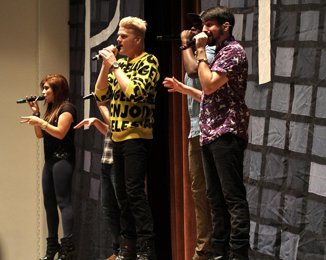 Pentatonix delivers anticipated performance – The Wichitan