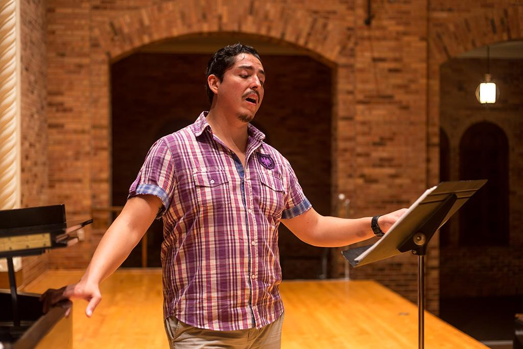 Mexican tenor Edgar Villalva and Midwestern State University Fine Arts Dean and pianist Martin Camacho will perform an evening of Latin American music to open local Hispanic Heritage Month festivities. Photo by Izziel Latour