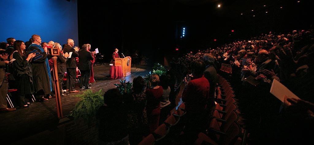 Suzanne Shipley, university president, Midwestern State University, Dec. 11, 2015. Photo by Bradley Wilson