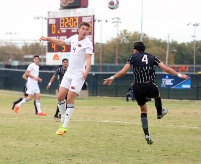 Patrick Fitzgerald at the NCAA Division II South Central Regional, Nov. 12, 2017. MSU beat Colorado Mesa 3-0. Photo by Bradley Wilson
