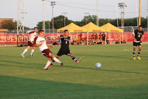 Men's soccer humiliates Central Baptist
