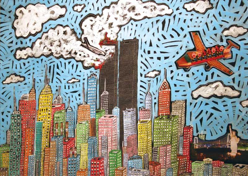 Artist to share unique take on terror attacks