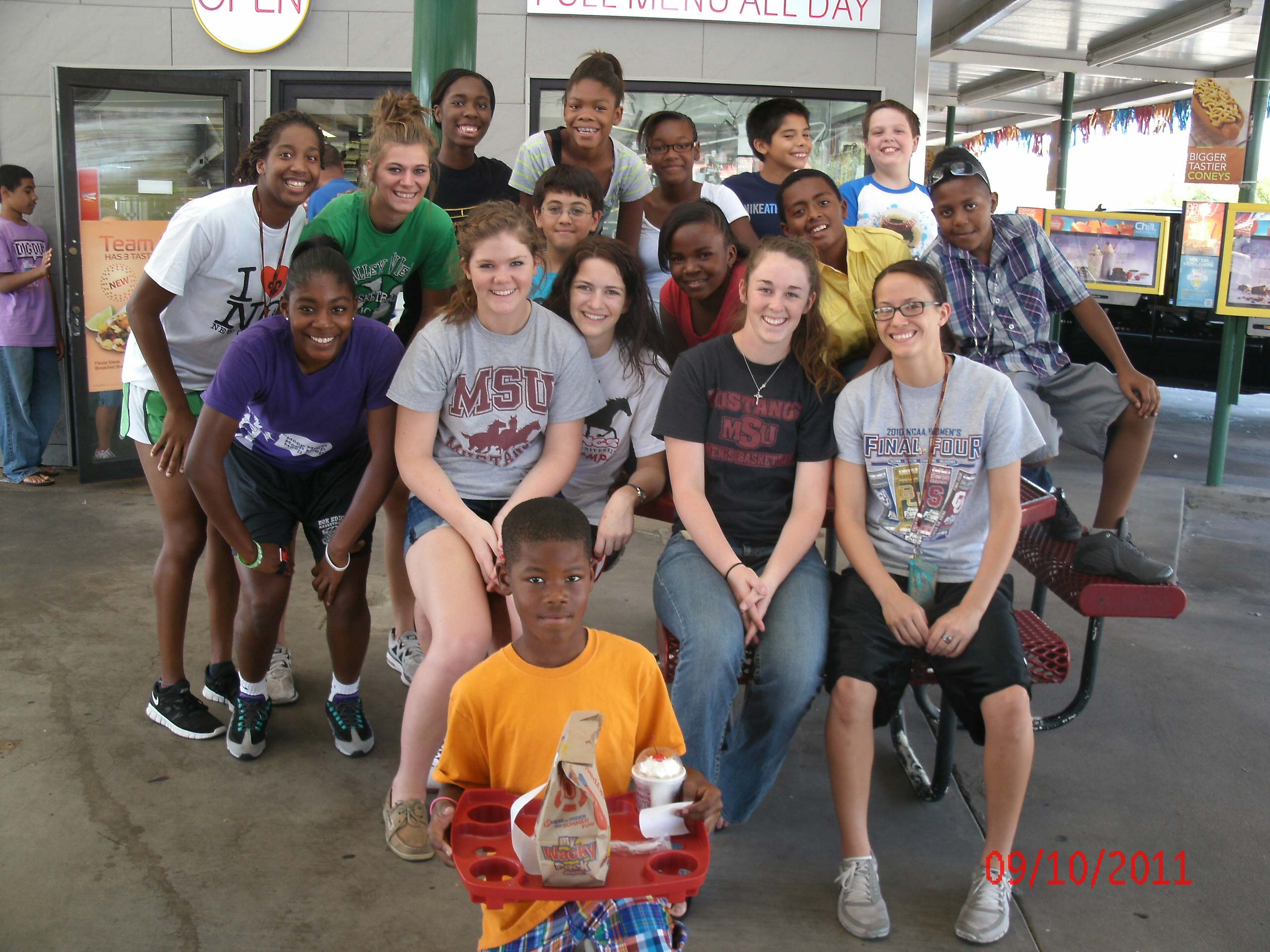 Lady Mustangs value volunteer opportunities
