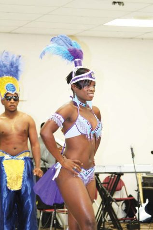 Members of the CSO displayed the fashion elements of the Carribean culture at Saturdays launch, Paradiso.