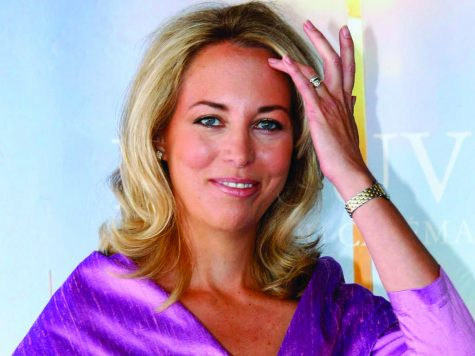 Former U.S. CIA operative Valerie Plame pictured in France last fall. Photo courtesy