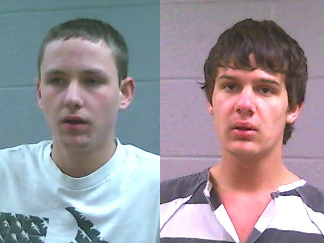 Two men arrested for computer thefts