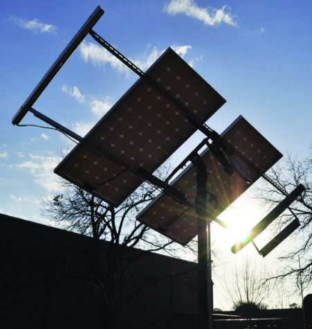 Solar panels lead way for energy projects