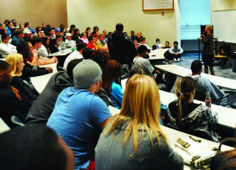 Students get advice on safe sex practices