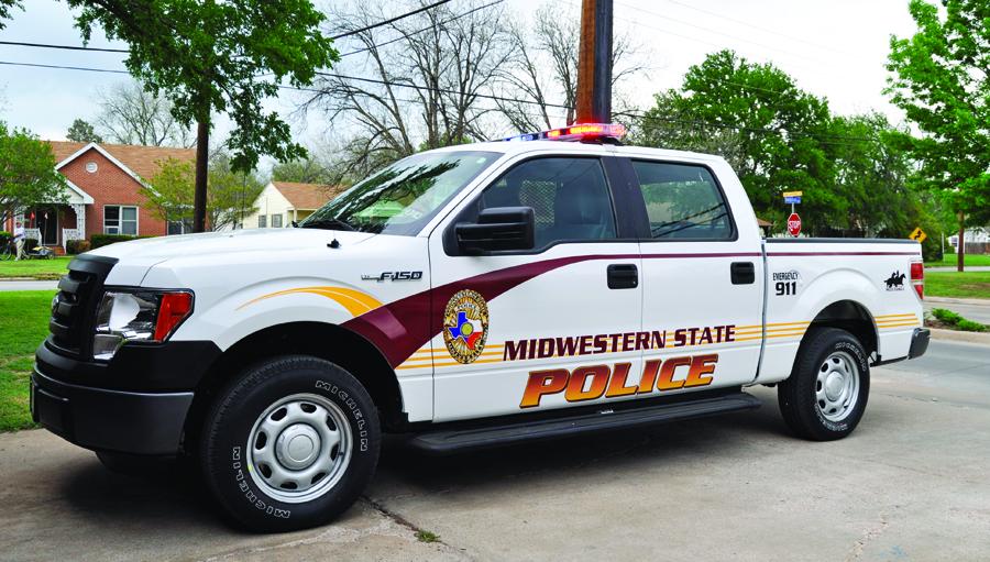New police vehicles patrol university grounds