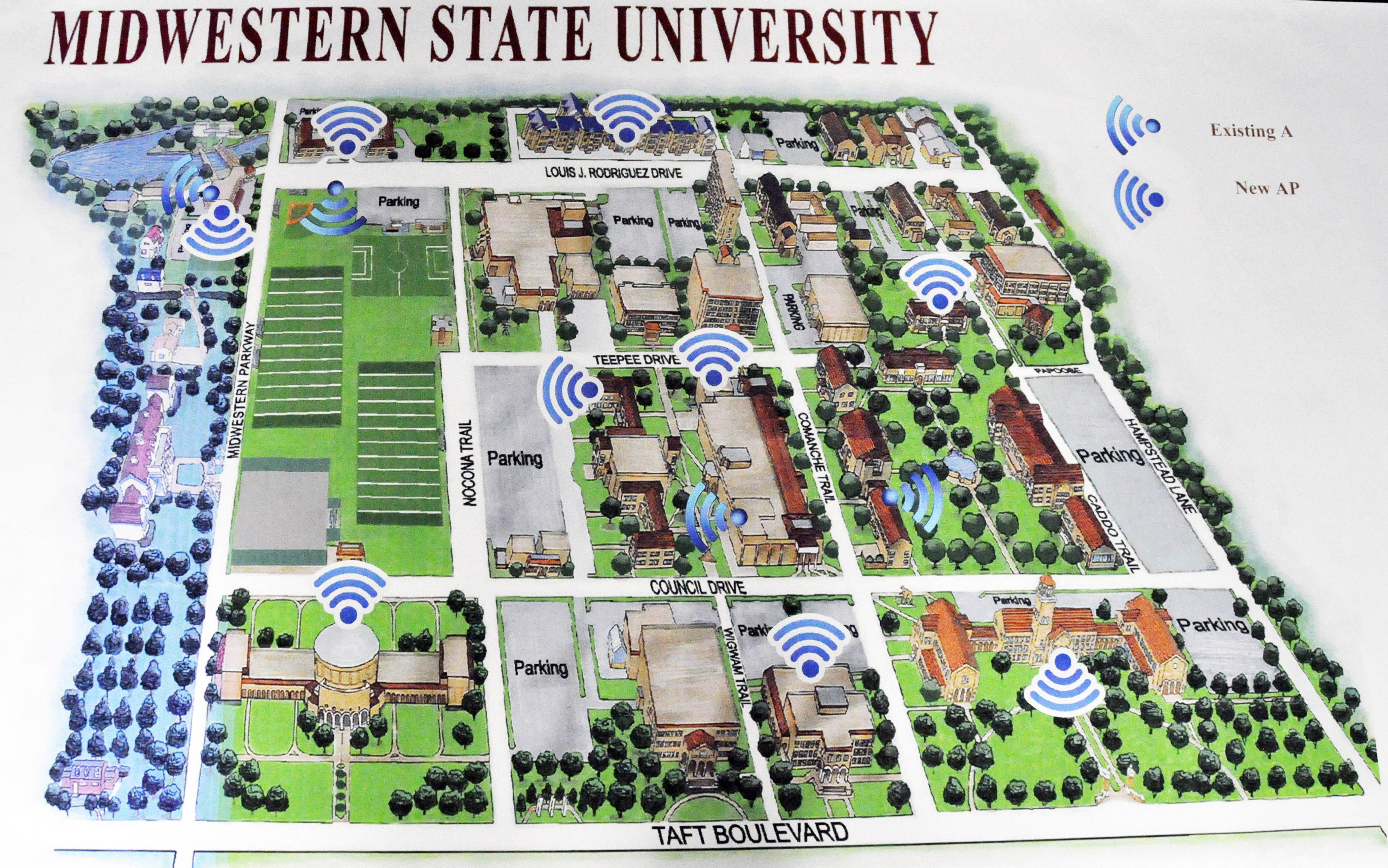 Campus gets connected