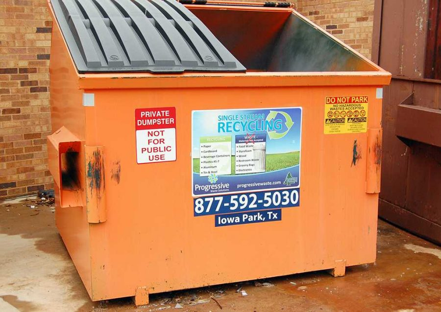 2013+file+photo+of+an+orange+recycling+bin+on+campus