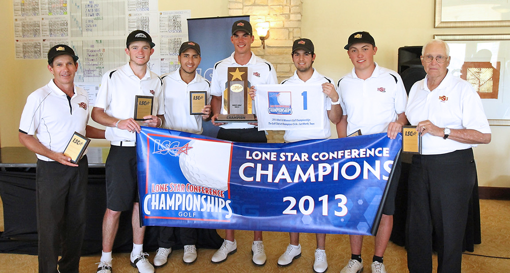 Men's golf, Gomez, take first place at LSC Championship