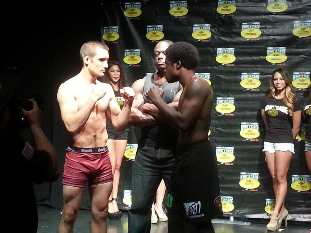 Graduate competes at King of the Cage World Amateur Championship in Las Vegas