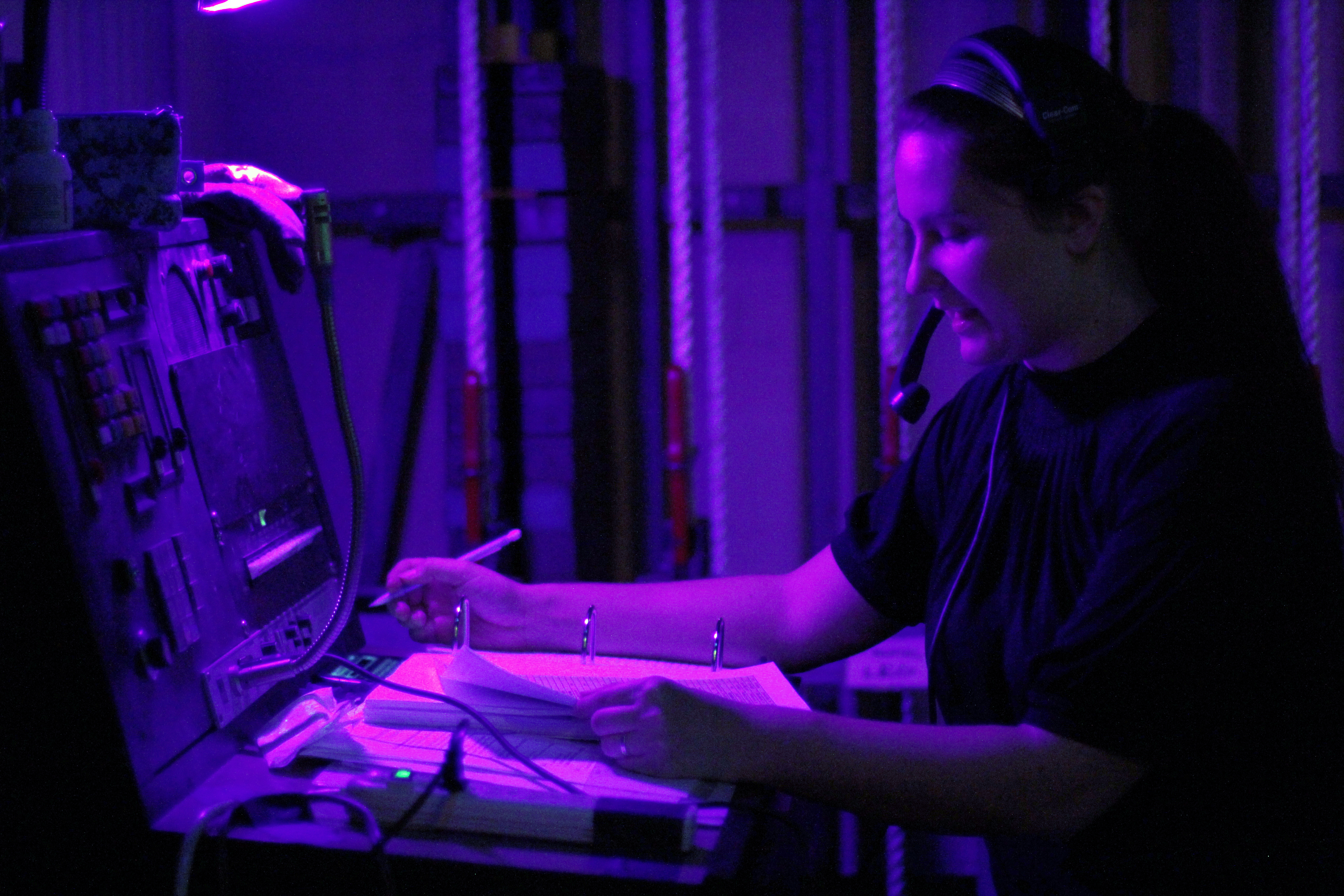 Student rises to the occasion as new assistant stage manager for Wiley and the Hairy Man