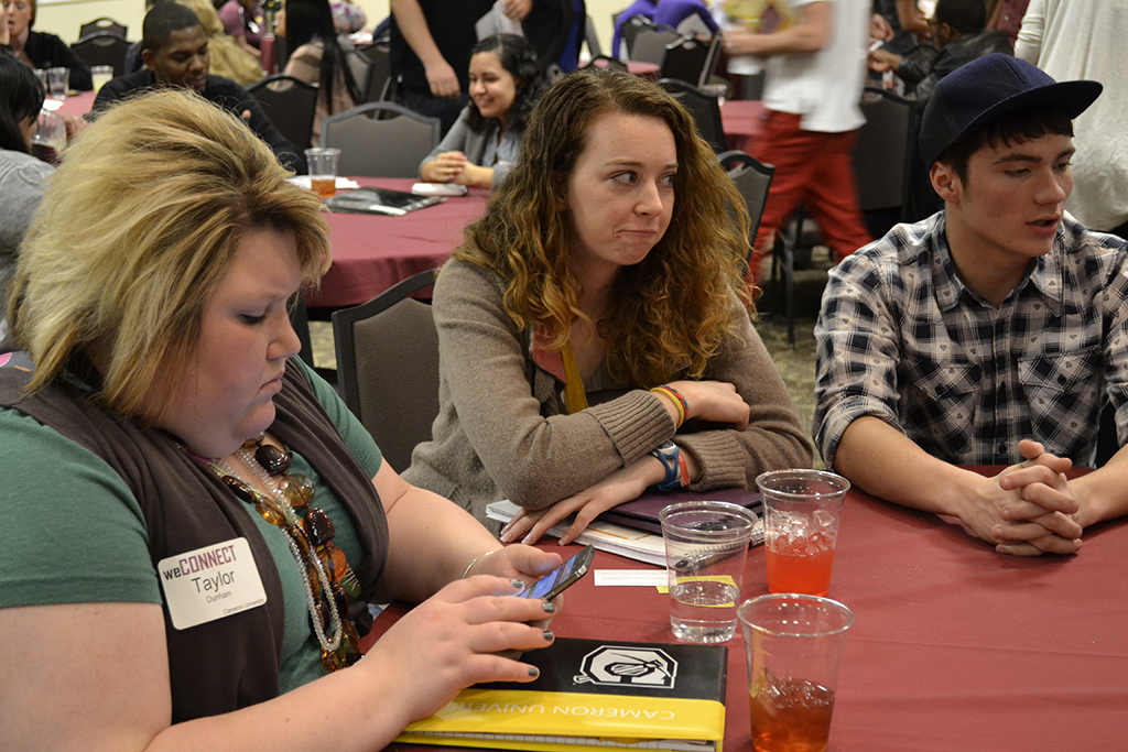Leadership conference attracts 130 from three universities