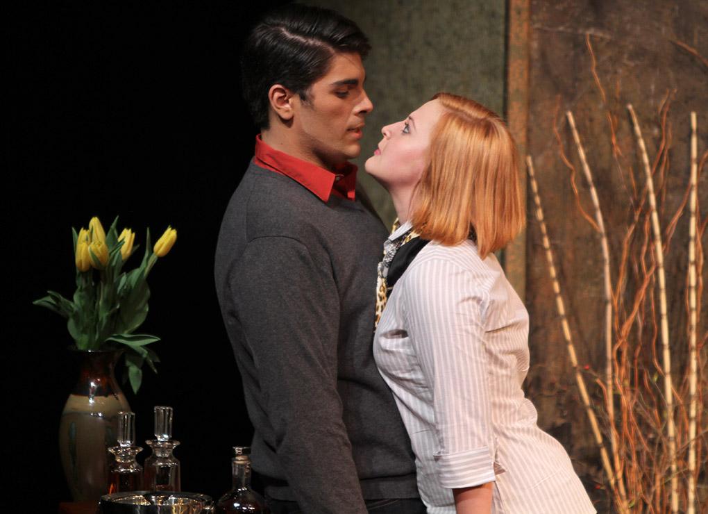 Theater production overlaps spring break