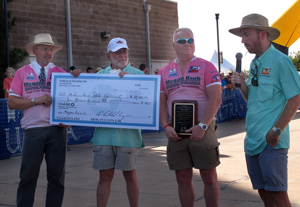 Memorial fund for female cyclists presented to MSU