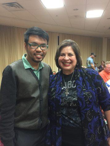 Democratic Lt. Gov. candidate visits Wichita Falls