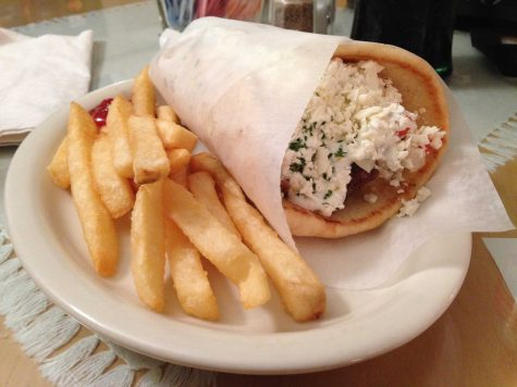 A Gyro from Hibiscus Cafe in Wichita Falls. Photo by Eddie Miller.