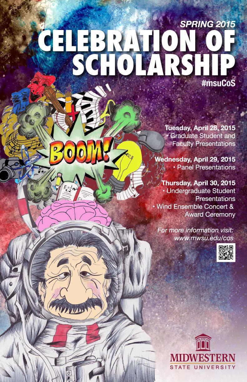 Student artwork chosen to market research forum - The Wichitan