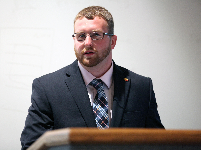 New SGA president looks to update bylaws, procedures