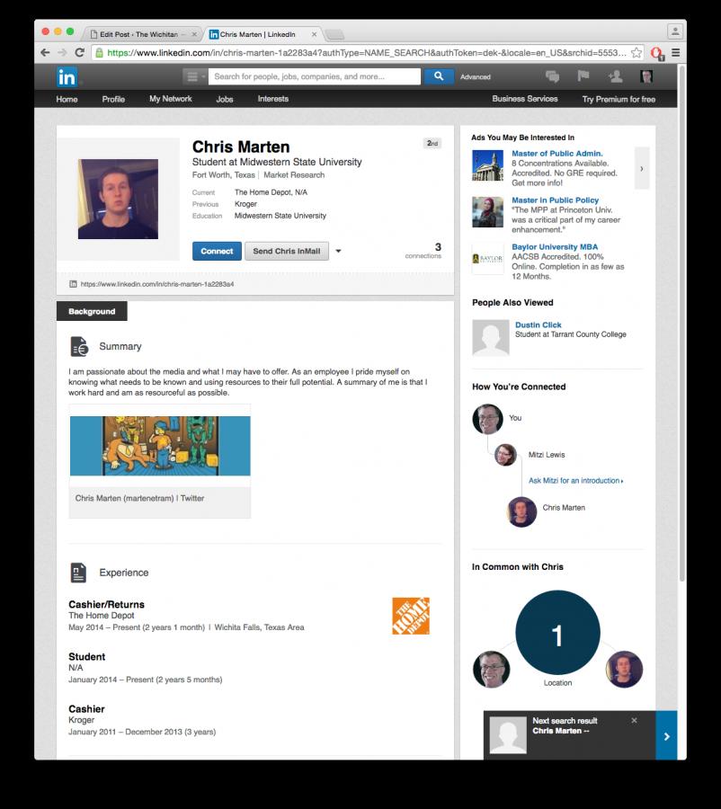 LinkedIn provides job prospect opportunities.