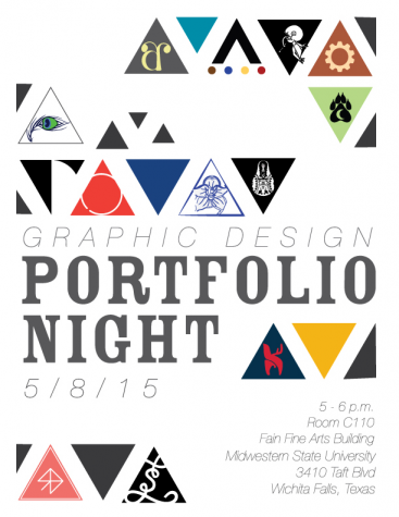 Graphic design students to present at first annual portfolio night May 8