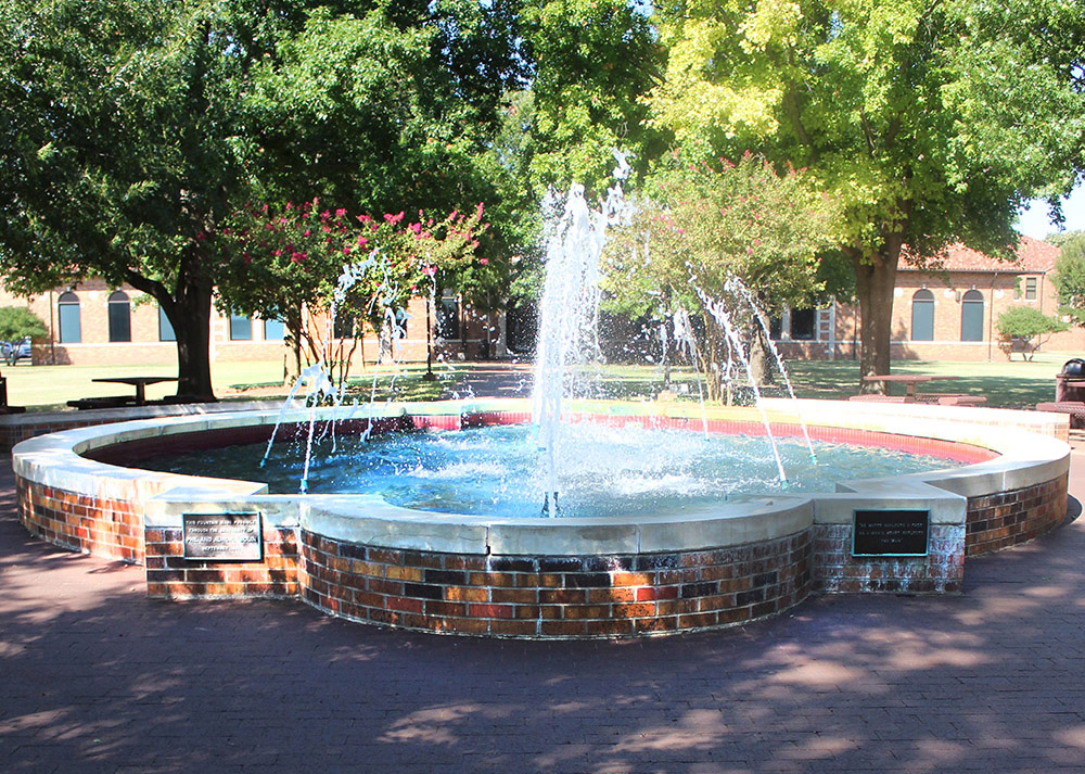 Bolin Fountain showers again
