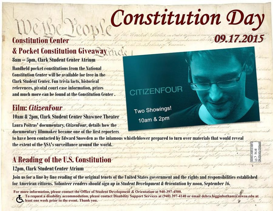 Constitution Day is Sept. 17.