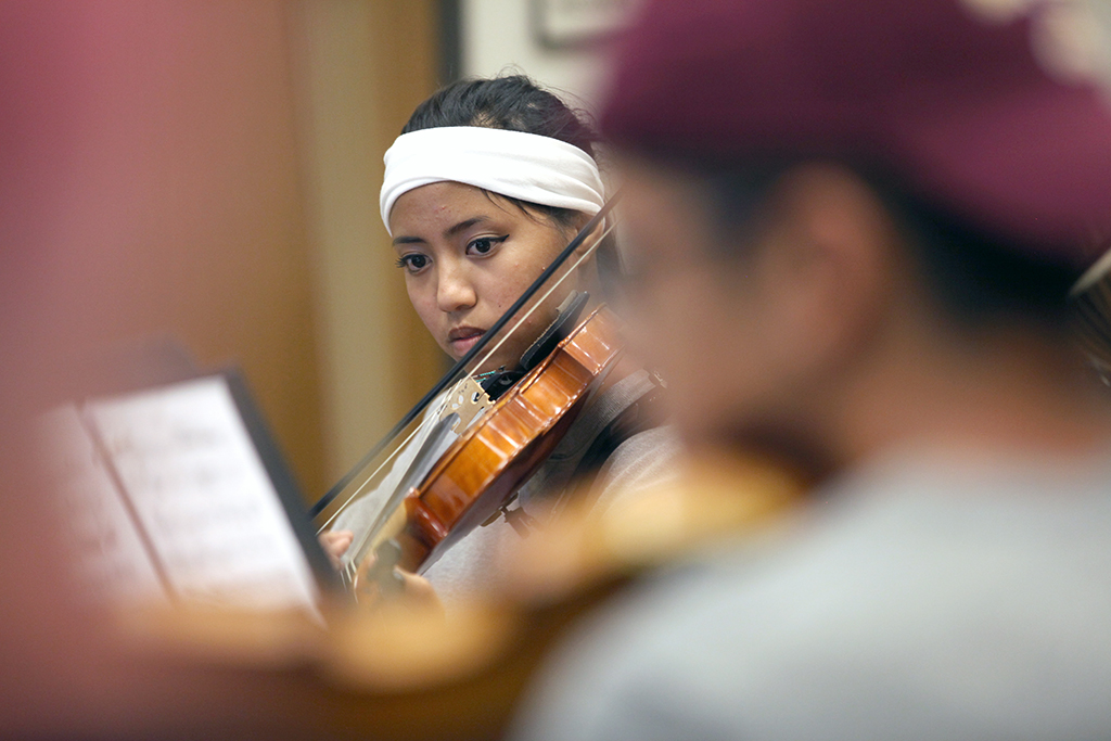 MSU orchestra performs for first time since 1971