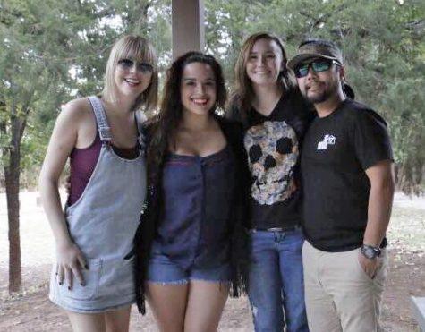 Meg Maley, Monica Medoza, Jesslyn Castro and James Huling